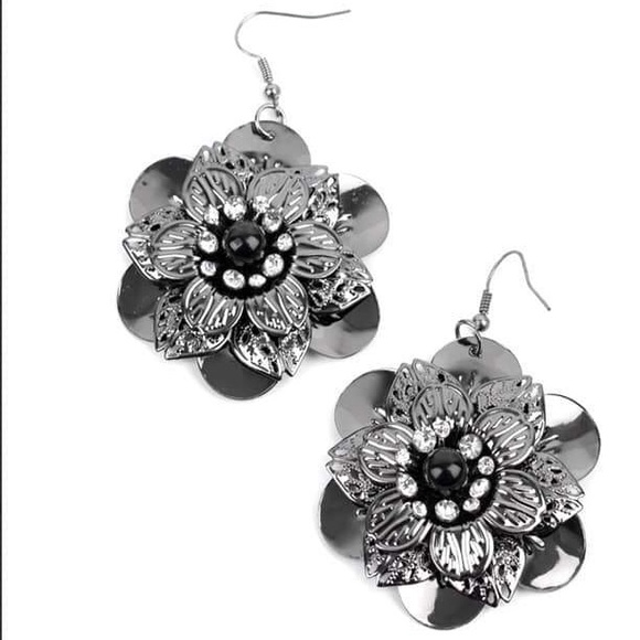 Midnight Garden Earrings - LOP & Bring Back Piece